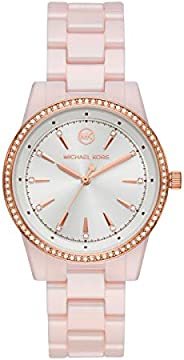Michael Kors Ritz Women's White Dial Ceramic Analog Watch - MK