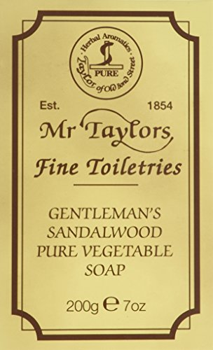 Taylor of Old Bond Street 200g Sandalwood Pure Vegetable Bath Soap