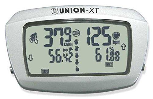 Union Fahrradcomputer Cardio mit Draht xt mit Herzfrequenzgurt Wireless Fahrradcomputer (Cardio und GPS)/Bike Computer Heart Rate Wire xt with Cardio Heart Rate Wireless (Herzschlagmonitor & GPS)