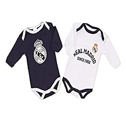 Pack Real Madrid 2 Bodys...