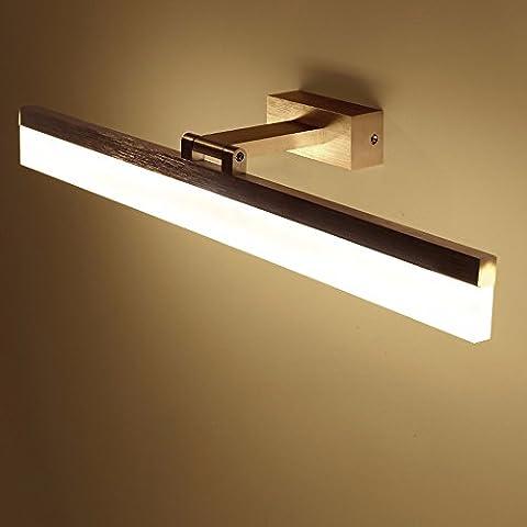 LED luci dello specchietto, semplice specchio bagno luci armadio a specchio, bagno specchio cassettiera bagno Specchio bagno lampada,0,5M,3kg