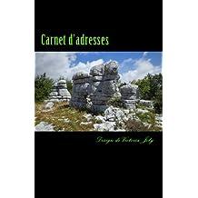 Carnet d'adresses: Adresse / Telephone / E-mail / Anniversaire / Site Web / Log in / Mot de passe / Collection Mysteres 9