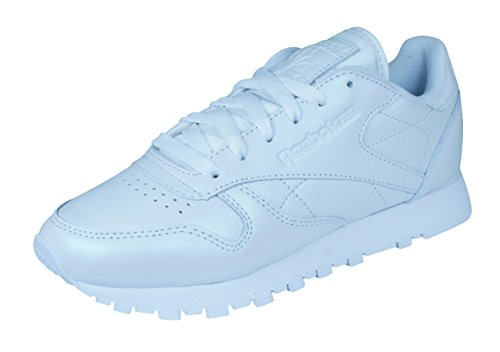 Reebok CL Leather Pearlized W chaussures, Blanc, 35.5
