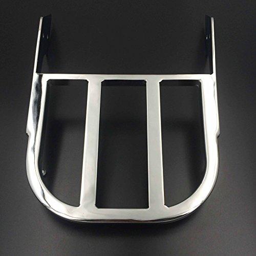 Motorrad Gepäckträger Honda (HTT Gruppe Motorrad Chrom Sissy Bar Gepäck Rack für 2002–2006Honda VTX 1300C/2002–2011Honda VTX 1800C/2005–2011Honda VTX 1800F)