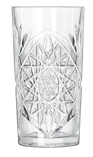 Bicchiere Cocktail Long Drink in vetro succo in vetro acqua 47CL Ø 8,5cm hobstar von Libbey (12pezzi)
