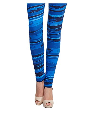 Yepme Women's Blue Cotton Leggings - YPMLGGN5055_M  available at amazon for Rs.179