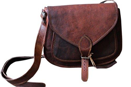 - 41MMt0XLo7L - FAIRKRAFT 16″ Leather Purse Women Handbag Tote Leather Crossbody Shoulder Satchel Diaper Bag Travel Handbag Women messenger bag