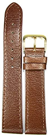BRAND NEW High Quality Classic Genuine Leather Replacement (Brown, 20mm)