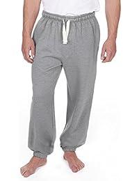 Hellomiko Pantalones cortos deportivos de algodón para hombre Pantalones cortos 3/4 Pantalones deportivos deportivos de verano para… wFDI6np