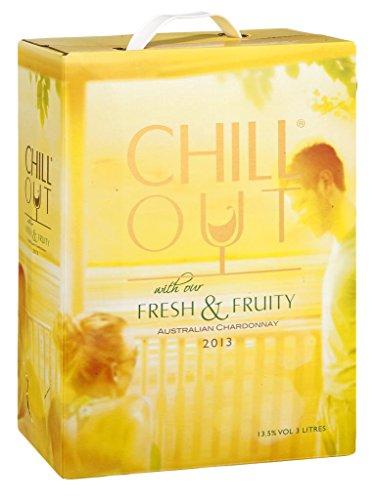 Chill-Out-Fresh-Fruity-Chardonnay-Weiwein-trocken-Bag-in-Box-13-Vol-Australien-Sonne-Meer-Fisch-Salat-Geflgel-Ausflug-Picknick-30l