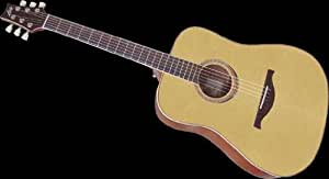 LAG GUITARE FOLK ACOUSTIQUE LAG 100D/LH SPRING DREADNOUGHT - GAUCHER