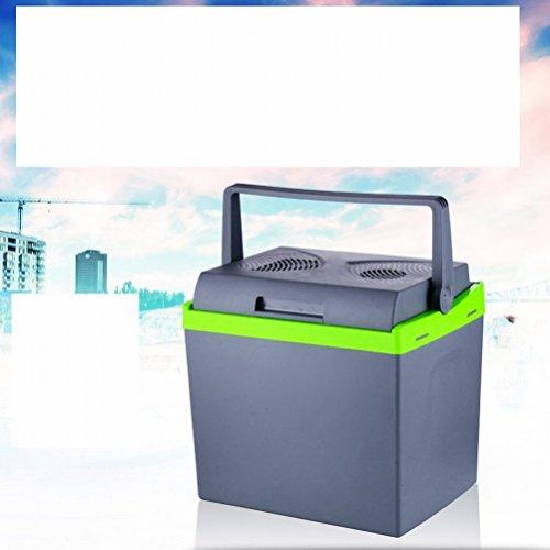 Réchauffeur de Voiture Haute capacité de 25 litres Mini réfrigérateur à Double Usage Chauffage à Froid et à Froid à Froid,Gris,37,5 * 28,5 * 37,5 43 * 38 * 30