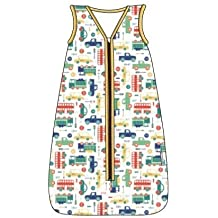 El saco de dormir para verano Slumbersac para bebés, de aprox. 0.5 Tog –