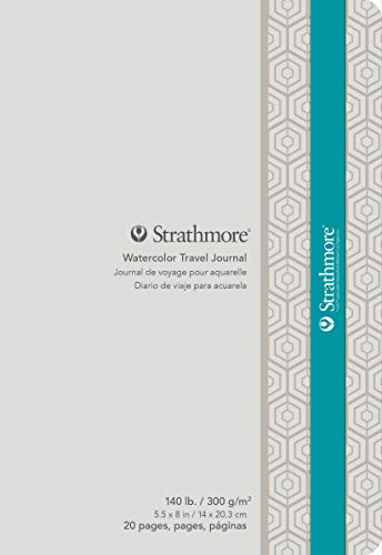 Strathmore Watercolor Travel Journal 5.5x8