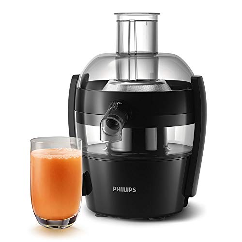 Philips HR1832/01 Viva Collection Compact Juicer, 1.5 Litre, 500 Watt - Black