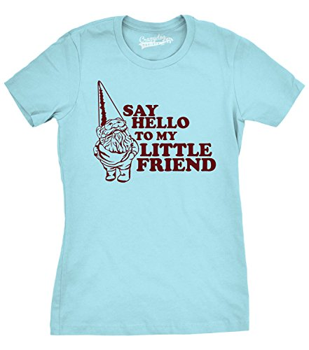 crazy-dog-tshirts-womens-say-hello-to-my-little-friend-shirt-funny-lawn-gnome-t-shirt-blue-xxl-femme