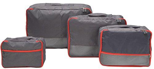 eyepower 4 Organizadores para maletas S-XL set de bolsas rectangulares