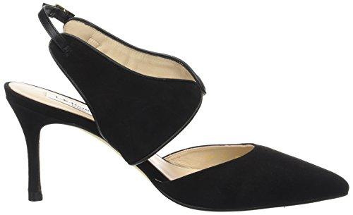 LK BENNETT Cecily, Scarpe con Cinturino Alla Caviglia Donna Nero (Black-black)
