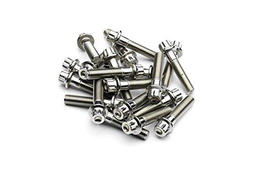 SRR matériel Raw Split Bord Boulons M7 x 32 mm en acier inoxydable forgé pour BBS RS oz Roues