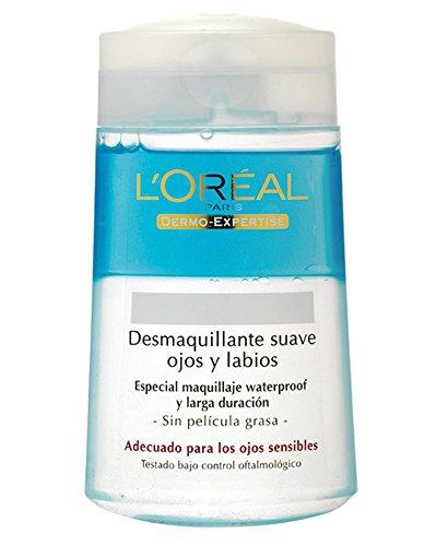L'Oreal Paris Dermo Expertise Desmaquillante Ojos y Labios sin Efecto Gaso - 125 ml