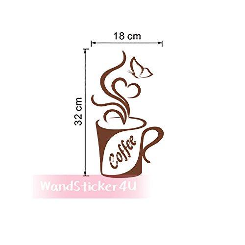 wandsticker4u-kaffee-becher-kaffeeherz-coffeetime-kaffee-heart-love-kaffeebohnen-tasse-kaffee-kuche-