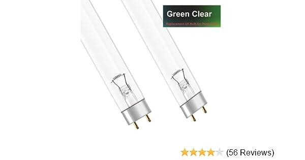TWIN PACK 2 X 55W T8 UV BULB KOI FISH POND ULTRAVIOLET LAMP 55 WATT UVC TUBE