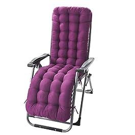 Coussin de Chaise en Coton Coussin de siège de fenêtre de Chaise de rotin épaissie par Fauteuil à Bascule inclinable d…
