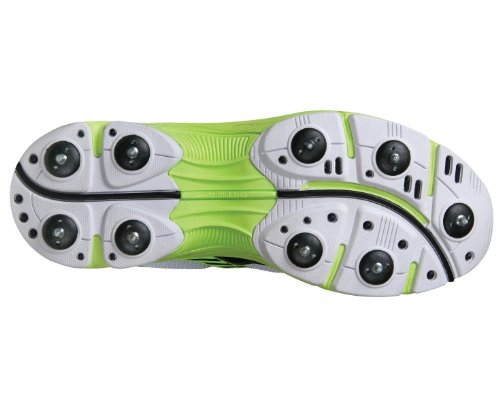 Gray-Nicolls , Chaussures de cricket pour homme Blanco/Negro/Verde