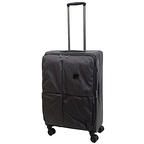 "TITAN Valise trolley ""Square"" avec 4 roues anthracite Koffer, 78 cm, 126 liters, Schwarz (Anthracite)"