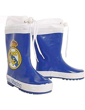 Botas Agua Real Madrid Goma, Cuello Ajustable