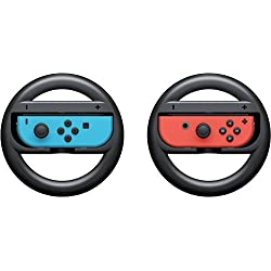 Webat Joy-Con Wheel (Set di 2) - nero