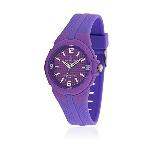cristian-lay-womens-quartz-watch-analogue-display-and-rubber-strap-19642