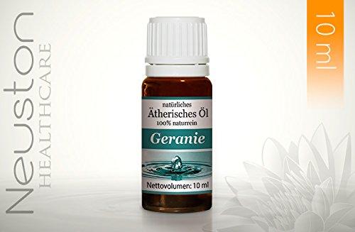 Neuston Geranie - 100% naturreines ätherisches Öl, 10 ml