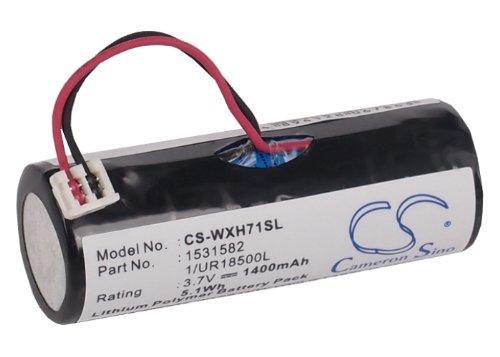 Preisvergleich Produktbild Cameron Sino 1400mAh/5.18Wh Battery Compatible With Wella Xpert HS71, Xpert HS75, Xpert HS71 Profi