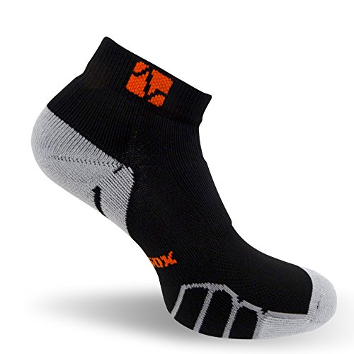 VitalSox Run and Fun Low Cut Italian Plantar Compression Performance socks, VT0210