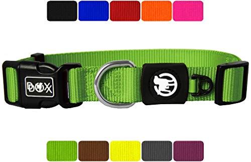 DDOXX Hundehalsband Nylon in vielen Farben &