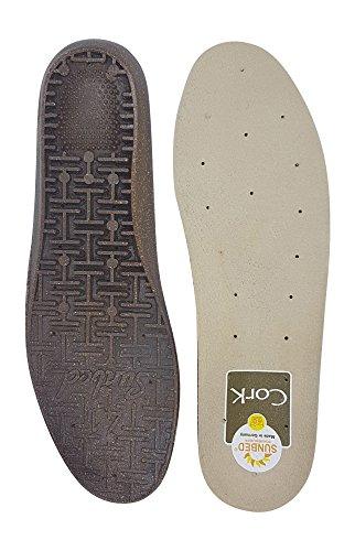 Schuheinlagen Einlegesohlen Spannrit SUNBED CORK (44)