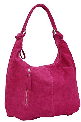 AMBRA Moda, Borsa a spalla donna XX-Large Pink groß