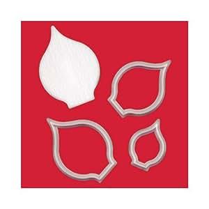 FMM Sugarcraft - Stampi per fiori e foglie, con modellatore, motivo: calla