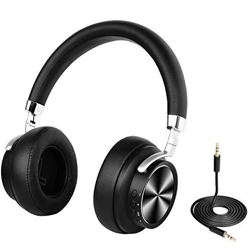 Drahtlose Bluetooth 4.1-Ohr-Kopfhörer mit Mikrofon, schnelles Audio-Stereo-Headset mit niedriger Latenz für TV / Handy / PC-Computer-Laptop