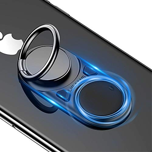 DFV mobile - Ring Supporto Anti Stress e l'Ansia Esplode Le Bolle di Plastica con Il Tuo Pulsante per DEXP Ursus N570 4G (2019) - Nero