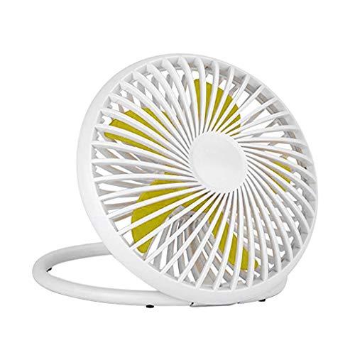 Jiheousty Mini-USB-Power Desk Stand Fan 2 Geschwindigkeiten geräuschärmer 180 ° drehbar Nette Home Office Desktop Decor Tragbare Hot Summer Supply (Modelle Hot Niedlichen)