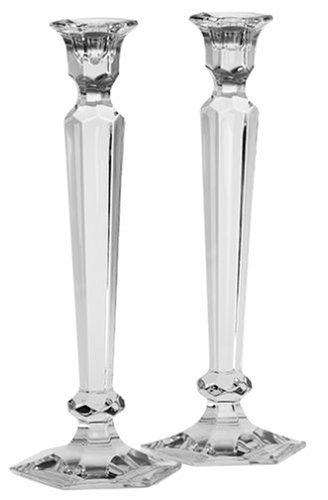 Reed & Barton Crystal Summit 12-Inch Candlesticks, Pair by Reed & Barton Barton Crystal