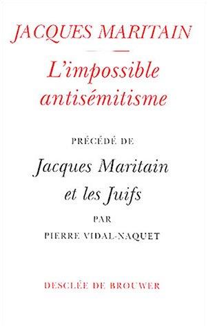 L'Impossible antisémitisme