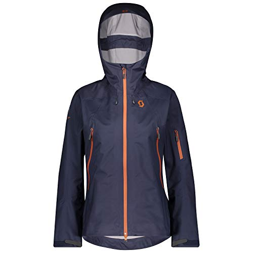 Scott Explorair 3L Jacket Blau, Damen DermizaxTM Regenjacke, Größe S - Farbe Blue Nights