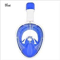 MáScara De Buceo Seco Completo Equipo De Buceo Antivaho Impermeable , blue , s