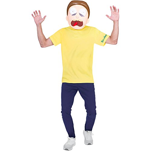 Amscan Morty - Rick and Morty Kostüm Jugendliche Teenager Jungen