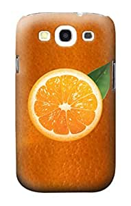 R2483 Orange Fruit Case Cover For Samsung Galaxy S3