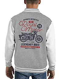 Royal Motor Legendary Rider Kids Varsity Jacket