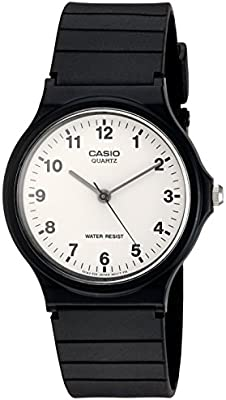 Casio Collection – Reloj Hombre Correa de Resina MQ-24-7BLL